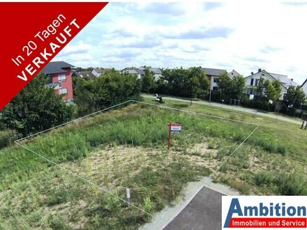 Verkauft in 20 Tagen - Schönes ebenes Grundstück zur Bebauung mit freistehendem Einzelhaus