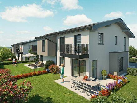 Leben-Lieben-Landschaft! Moderne Doppelhaushälfte in Lamprechtshausen!