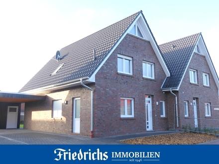 *Neubau-Erstbezug* Attraktive Neubau-Doppelhaushälfte in Bad Zwischenahn-Ekern - ruhige Wohnlage