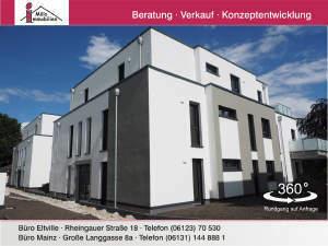Exklusive, großzügige Penthouse-Wohnung mit Dachterrasse und Aufzug