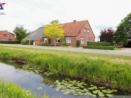 Hübsches Landhaus am Kanal-Auf Wunsch mit Weideland!