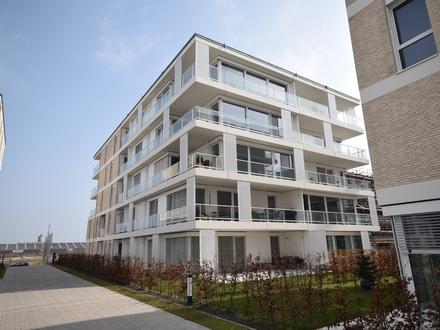 1. Monat mietfrei ! Geschmackvolle Neubau-Wohnung mit Terrasse in der Überseestadt