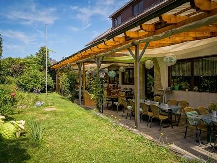Gutgehendes, Restaurant/Pension mit Mietwohnungen und Wellnessb. in verantwortungsv. Hände abzugeben