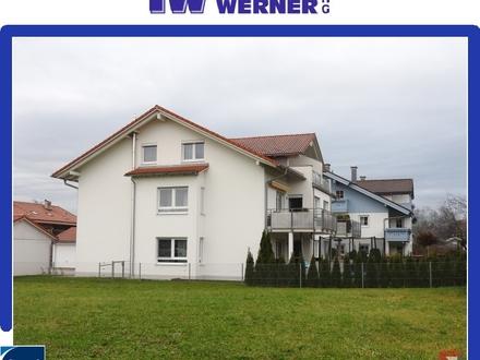 ***Junge 3-Zimmer-Wohnung mit Terrassenbalkon in toller Lage in Riedering***