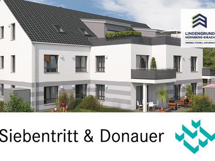 Neubau: Stilvolle moderne 2-Zimmer-Wohnung mit Terrasse und kleinem Gartenanteil in TOP-Wohnlage mit Tiefgarage