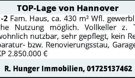 TOP-Lage von Hannover