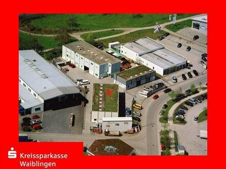 Produktions- /Lagerhalle mit Büro