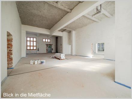 Büro oder Praxis im Industriedenkmal Papierfabrik mit Innenausbau