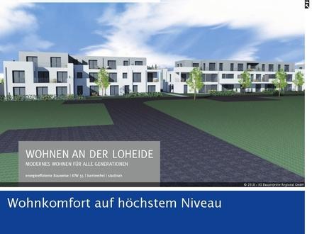 Exlusive, barrierefreie 3-Zimmer-Terrassenwohnung -132,12 m² Wfl.