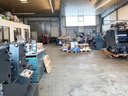 Produktionsfläche mit Büro in Norderstedt zu mieten