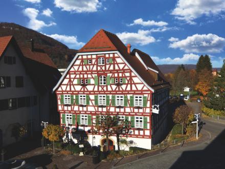 Hotel & Restaurant Altes Pfarrhaus in Bad Überkingen provisionsfrei zu verpachten / Verkauf möglich