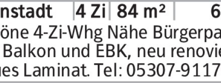 4-Zimmer Mietwohnung in Braunschweig (38102) 84m²