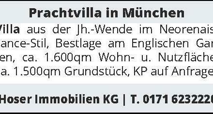 Prachtvilla in München