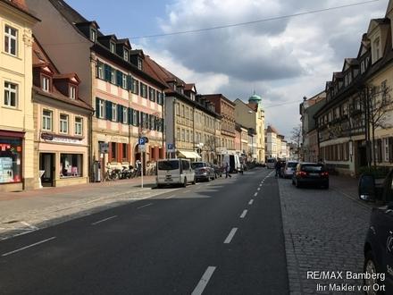RE/MAX Bamberg: Bamberg Mitte: Ladengeschäft in sehr guter Lauflage, auch als Büro, Praxis, Einzelhandel