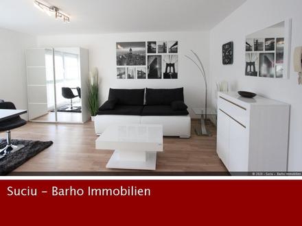 Schick und Neu möbliertes 1 Zimmer Apartment mit Balkon