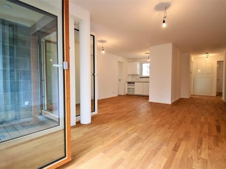 Ihr Traum vom Wohnen wird wahr! NEUBAU! Luxus-4 Zimmer + Garage und Garten in Sachenhausen-Süd
