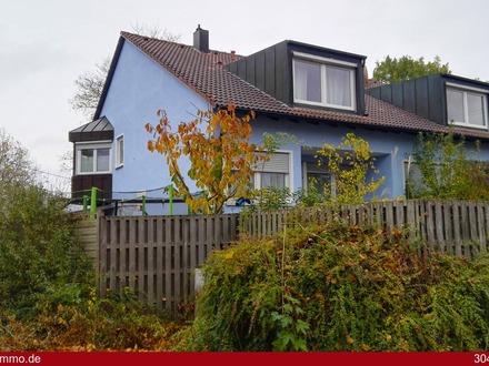 Eine Doppelhaushälfte westlich von Augsburg