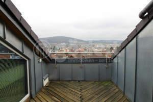++Über den Dächern von Goldbach - 1-Zimmer-Wohnung mit Dachloggia und EBK++