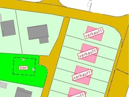 Ideales Grundstück für ein Einfamilienhaus nur noch 4 von 10 Grundstücken