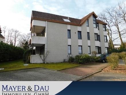 Gemütliche 2-Zimmer Wohnung nahe des Zentrums von Bad Zwischenahn (Objekt-Nr. 4172)