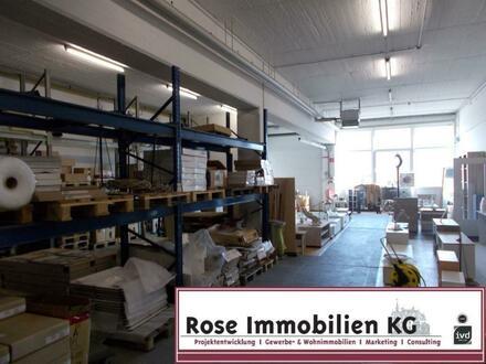ROSE IMMOBILIEN KG: Lager mit Rampe und ebenerdigem Zugang zentral in Bad Oeynhausen!