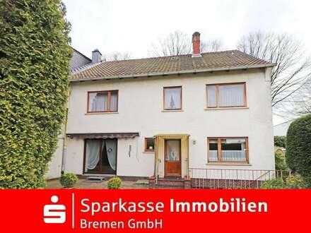 Für pures Familienglück - großzügiges Einfamilienhaus mit Garage in Bremen-Grohn