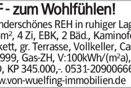 Wunderschönes REH in ruhiger Lage, 115m², 4 Zi, EBK, 2 Bäd., Kaminofen,...