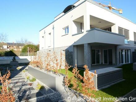 Erstbezug: Exklusive 3-Zimmer-Wohnung in Goldbach mit Gartenanteil
