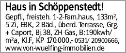Haus in Schöppenstedt!