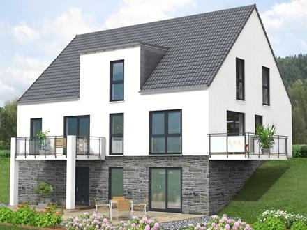 Neues freistehendes Einfamilienhaus auf grossem Grundstück in Waldrandnähe
