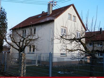 Ein- bis Dreifamilienhaus in guter Lage sucht neue Besitzer