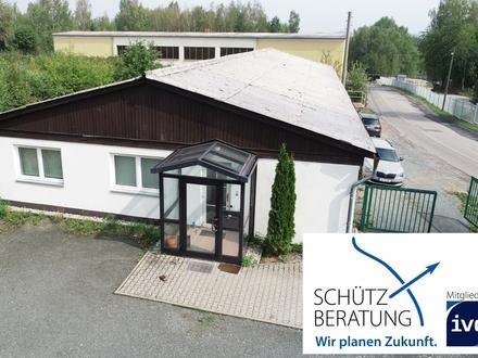 Beheizbare Hallenflächen mit Büros und Sozialräumen zu vermieten!
