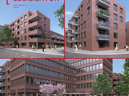 NEUBAU - HELLE BÜROFLÄCHEN IM CECILIENTOR, Überseequartier Bremen Gebäude 2