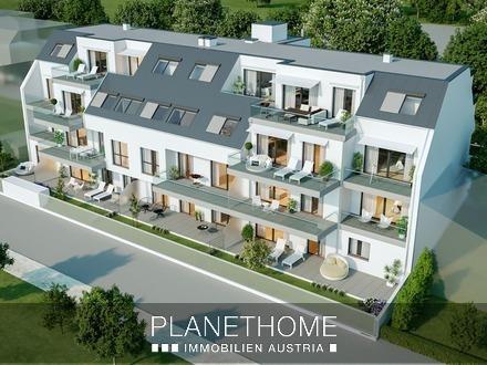 PROVISIONSFREI: Dachgeschosswohnung mit 3 Zimmer bei Aspern