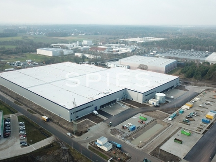An der A27: Neubau eines Logistikzentrums