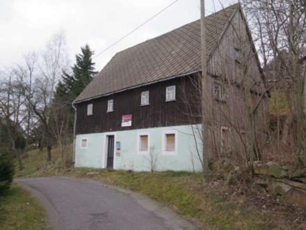 Mietkauf möglich Wohnhaus und Grünfläche in Hanglage