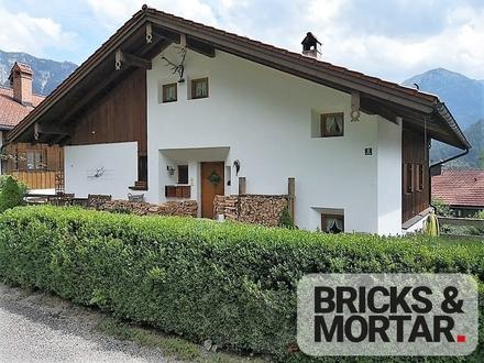 Exklusives Haus in traumhafter Lage mit 4 TG-Stellplätzen in Bad Hindelang