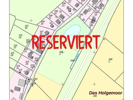 RESERVIERT: Wiese + Acker ohne See sucht Naturliebhaber als Freizeitgrundstück.