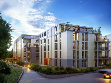 Moderne 3 Zimmer Neubau-Etagenwohnung