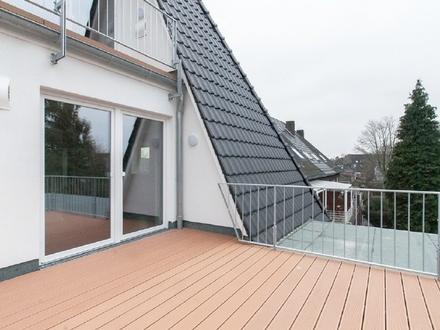 Hochwertige 2,5-Zimmer-Dachgeschoss-Wohnung mit Balkon