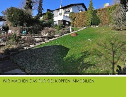 Außergewöhnliches 1-Fam.-Haus mit traumhaftem Grundstück in unverbaubaurer Aussichtslage