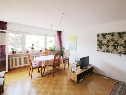 Helle 2-Zimmer-Wohnung mit Küche und Balkon in ruhiger Lage