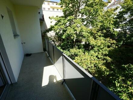 Zentral gelegen! 2 ZKB-Wohnung mit schönem Balkon