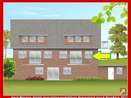 Neubau-Eigentumswohnung im 1. OG mit Balkon in Lathen zu verkaufen!