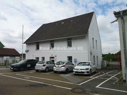 ROSE IMMOBILIEN KG: Industriegebäude an der Bundesstraße in Porta Westfalica.