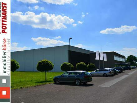Gewerbehalle in großem Industriebetrieb in guter Verkehrslage!