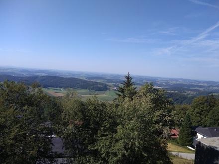 Schönes 1-Zimmer-Ferienappartement mit Panoramablick
