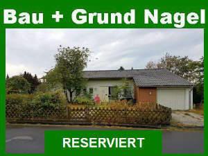 Heller Bungalow mit Garten, Garage u. Erweiterungsmöglichkeit des Wohnraums!