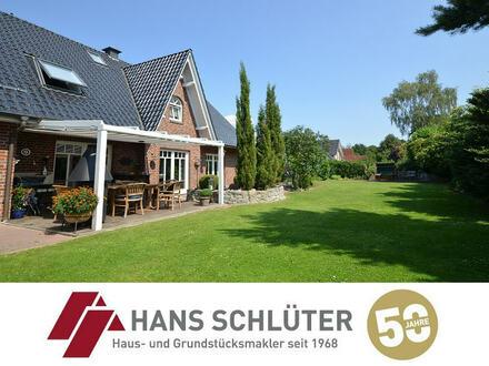 Großzügiges Einfamilienhaus mit Doppelgarage in grüner Umgebung von Bremen-Borgfeld!