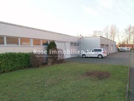 ROSE IMMOBILIEN KG: Vermietung Lager-/Produktionshallen mit Büro ab 265m²!